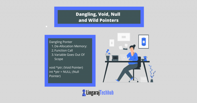 Dangling, Void, Null and Wild Pointers