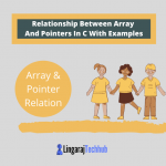 Relationship Between Array And Pointers In C With Examples