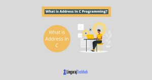 What is Address In C Programming