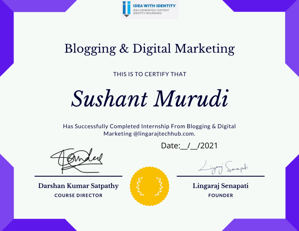 Blogging And Digital Marketing