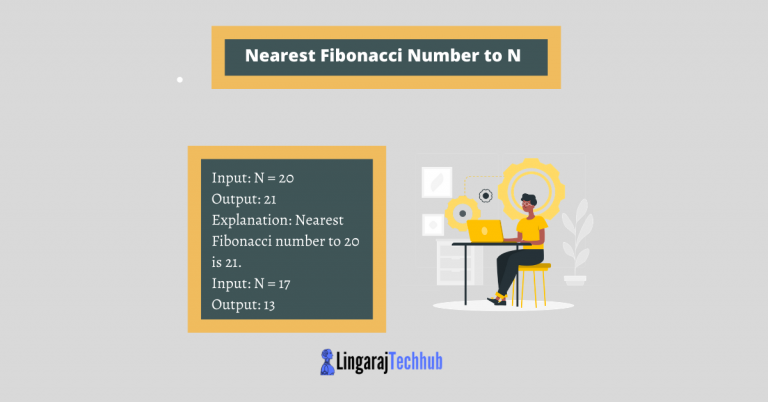 Nearest Fibonacci Number to N
