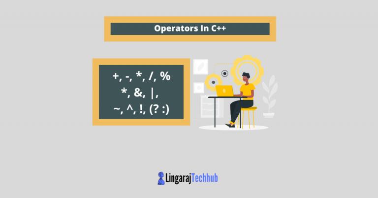 Operators In C++
