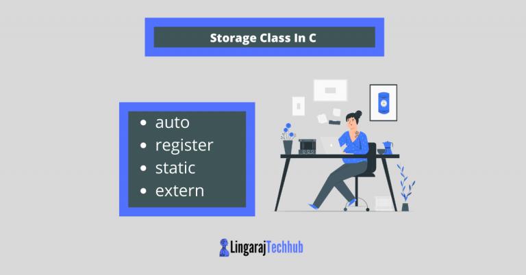 Storage Class In C
