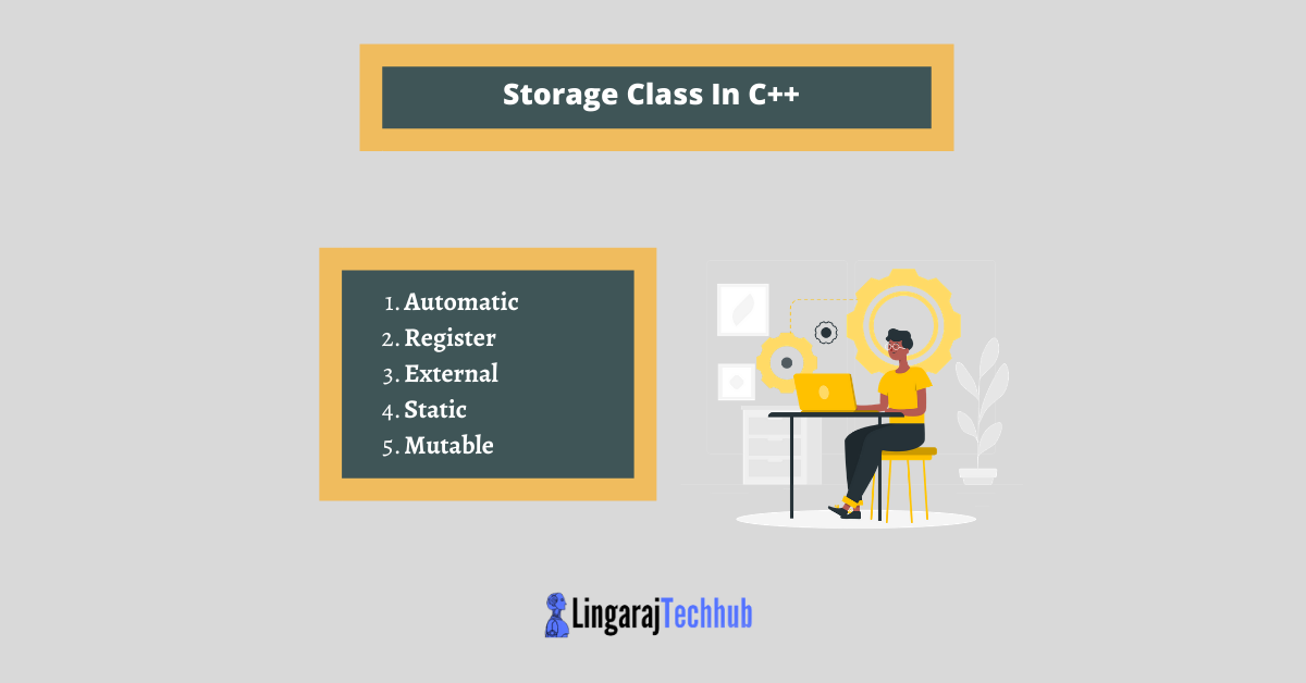 Storage Class In C++