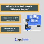 What is C++ And How it Different From C