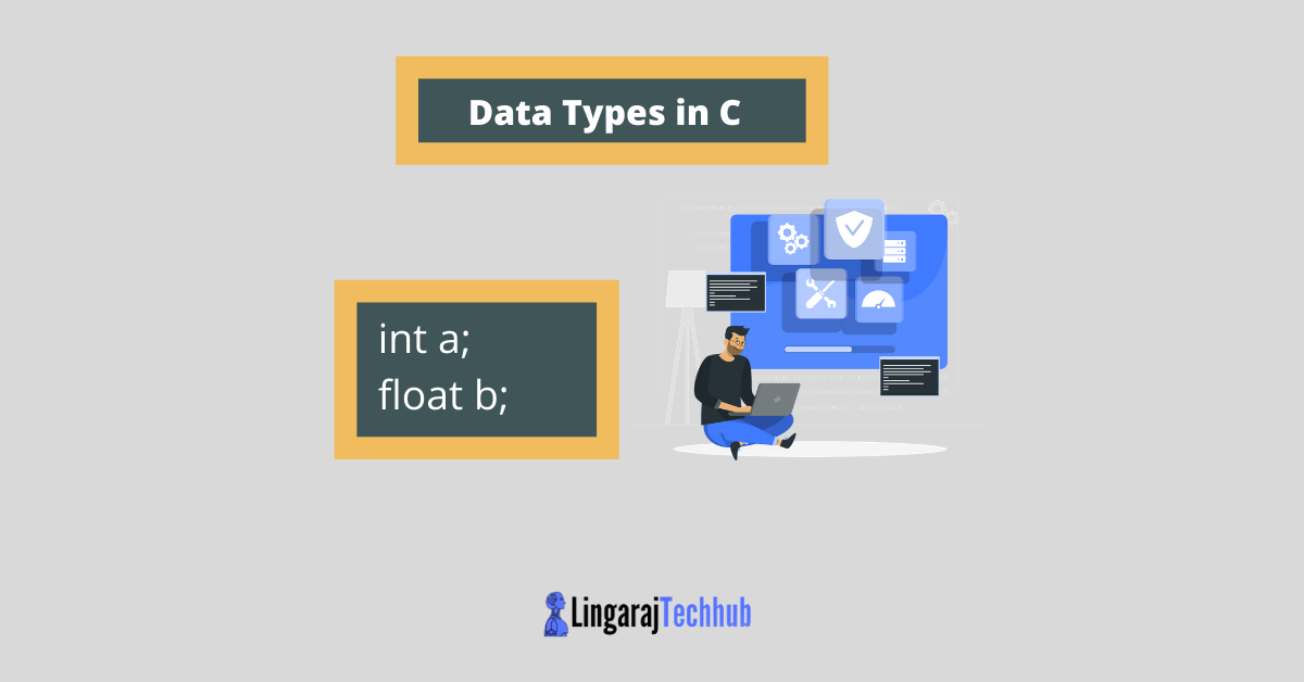 what is data types in c programming