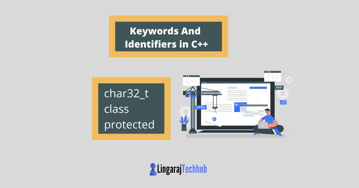 keywords and identifiers in c++