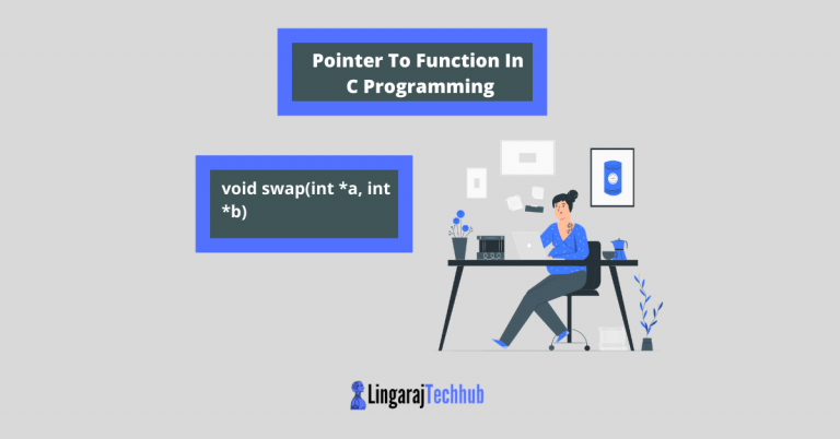Pointer To Function In C Programming