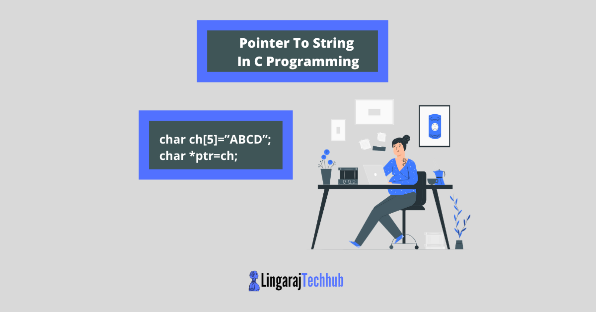 Pointer To String In C Programming