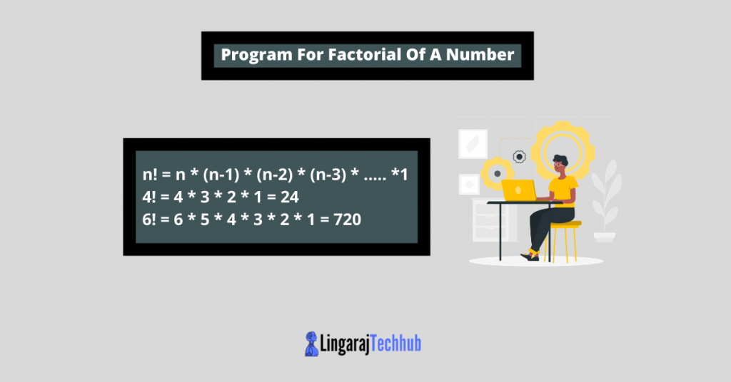 Program For Factorial Of A Number