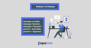 pointer to pointer