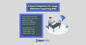 A React Component For Image Slideshow Supporting Slide