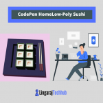 CodePen Home Low-Poly Sushi