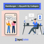 Hamburger + clip-path By Codepen