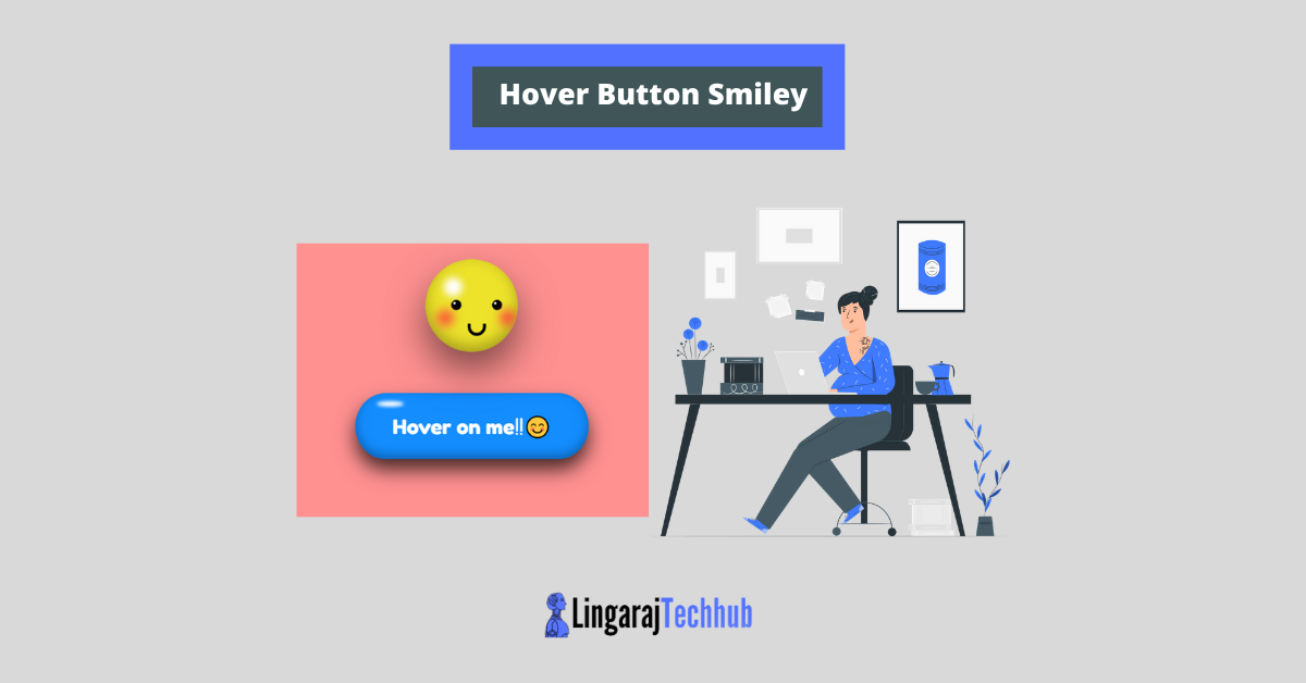Hover Button Smiley