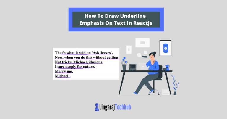 How To Draw Underline Emphasis On Text In Reactjs