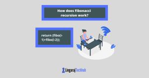 How does Fibonacci recursion work