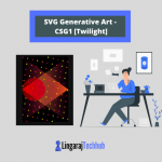 SVG Generative Art - CSG1 [Twilight]