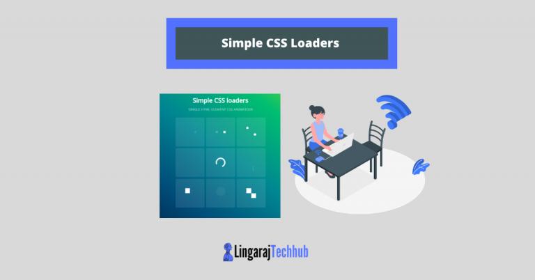 Simple CSS Loaders