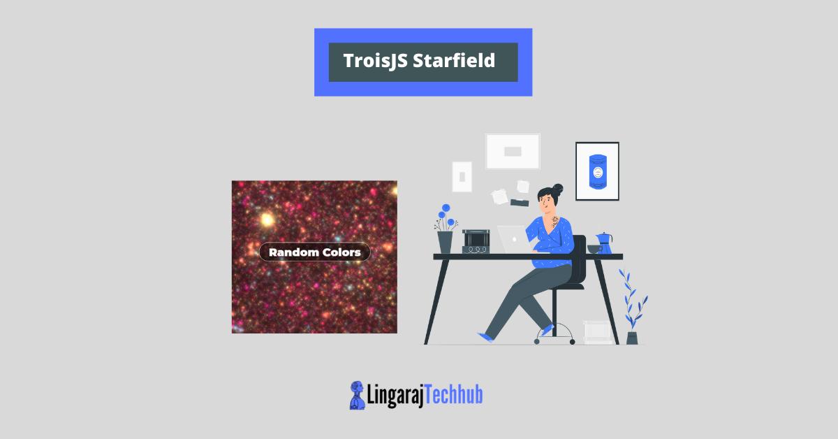 TroisJS Starfield