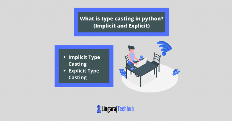 What is type casting in python