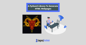 A Python3 Library To Generate HTML Webpages
