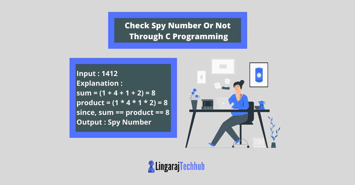 Check Spy Number Or Not Through C Programming