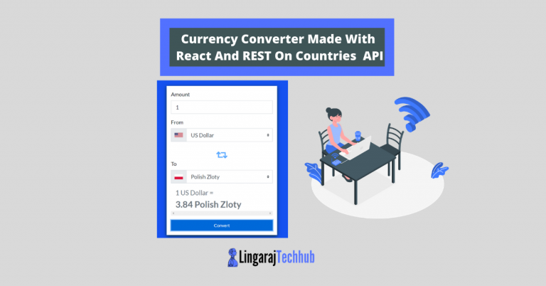 Currency Converter Made With React And REST On Countries API