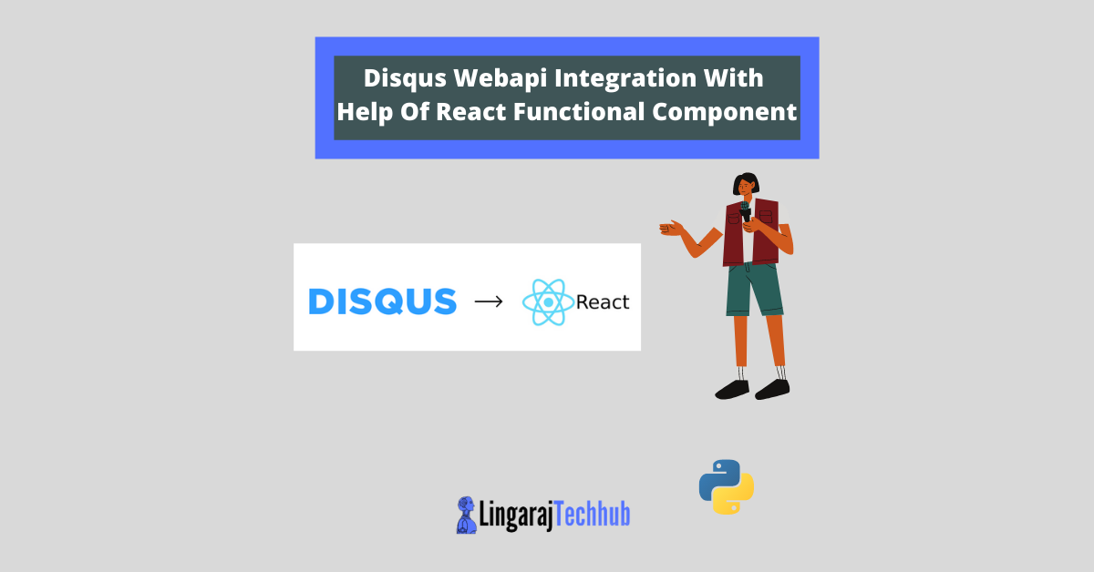 Disqus Webapi Integration With Help Of React Functional Component