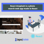 React Unsplash is a photo search web app made in React