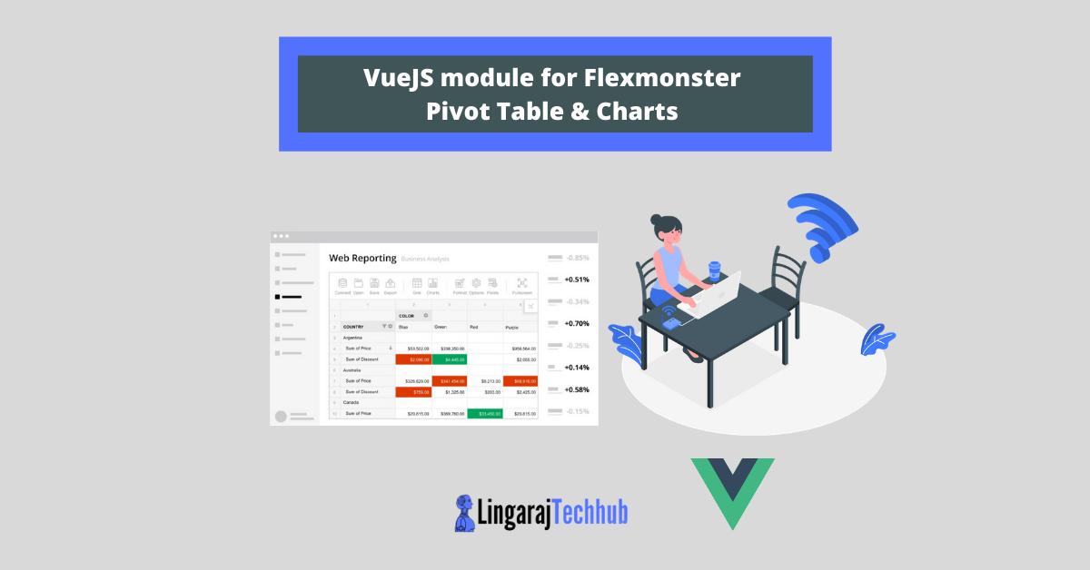 VueJS module for Flexmonster Pivot Table & Charts