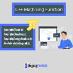 C++ Math sin() Function