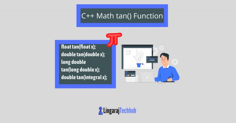 C++ Math tan() Function