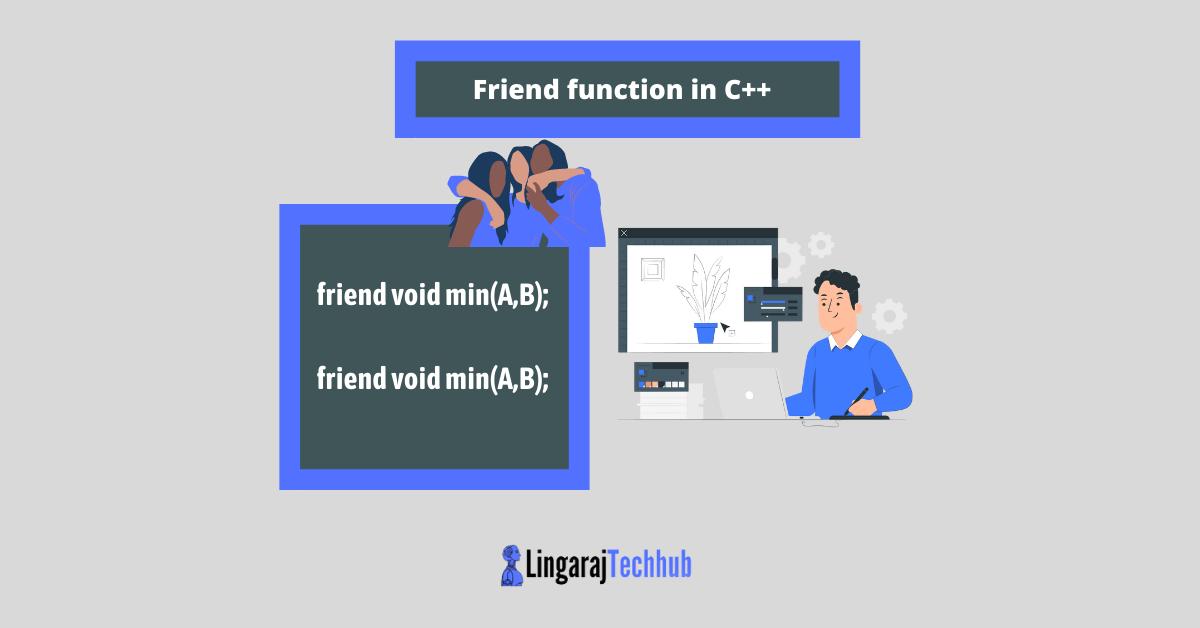 Friend function in C++