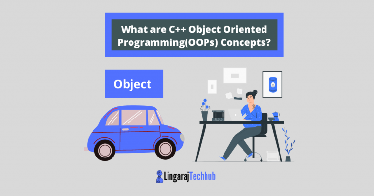 What are C++ Object Oriented Programming(OOPs) Concepts