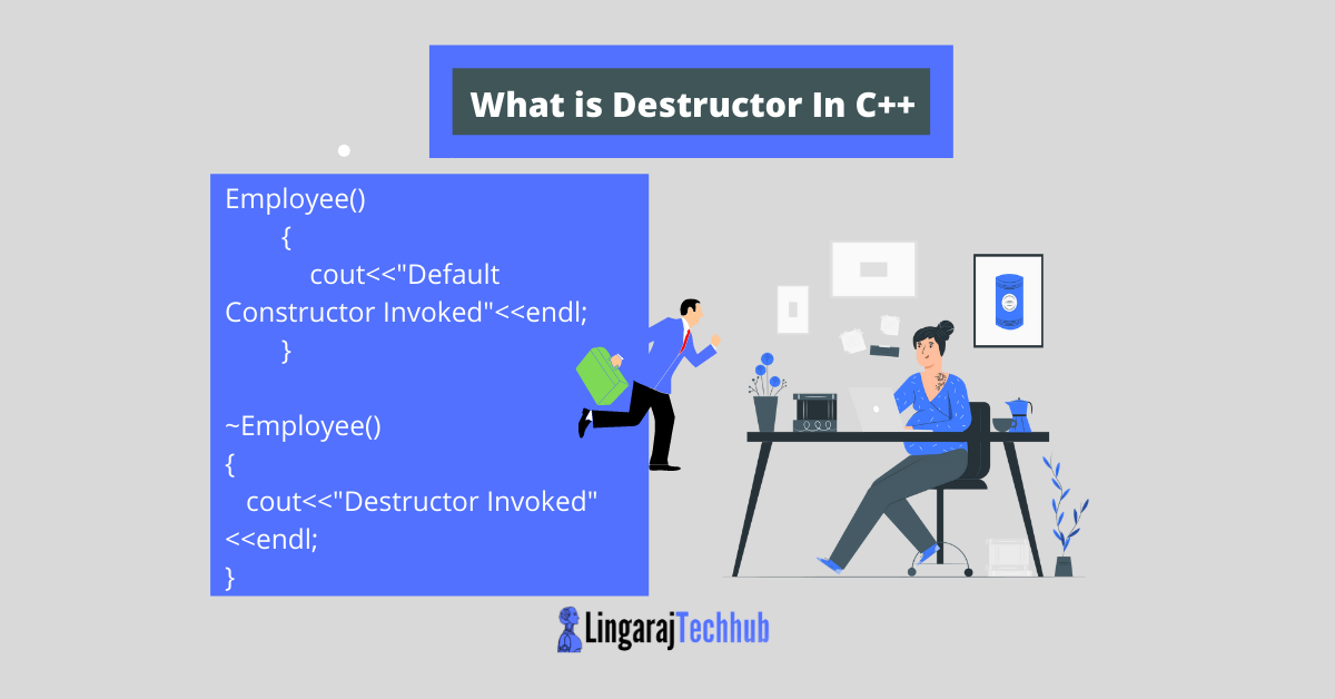 What is Destructor In C++