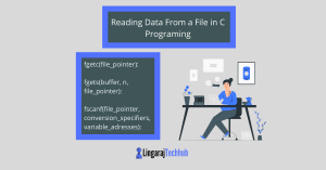 Reading Data From a File in C Programing