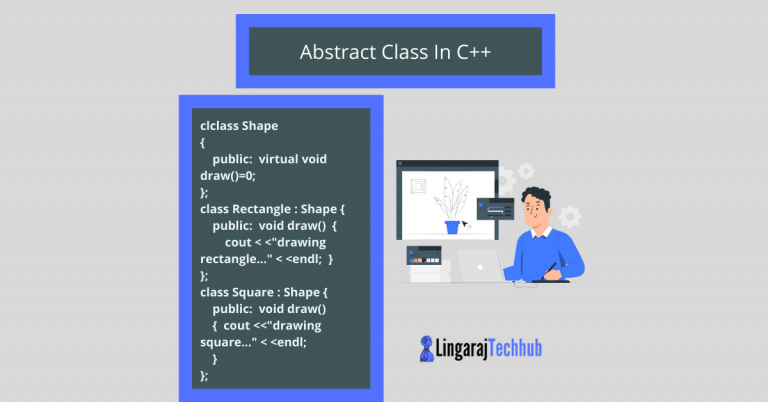 Abstract Class In C++