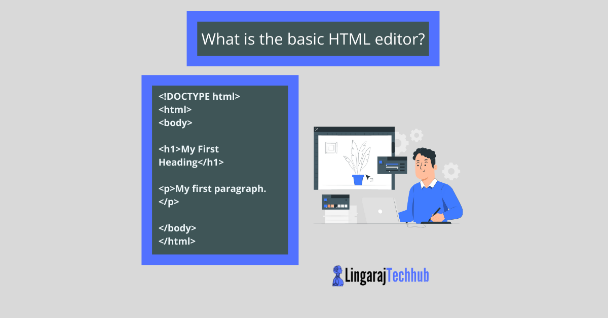 What is the basic HTML editor