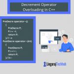 Decrement Operator Overloading In CPP