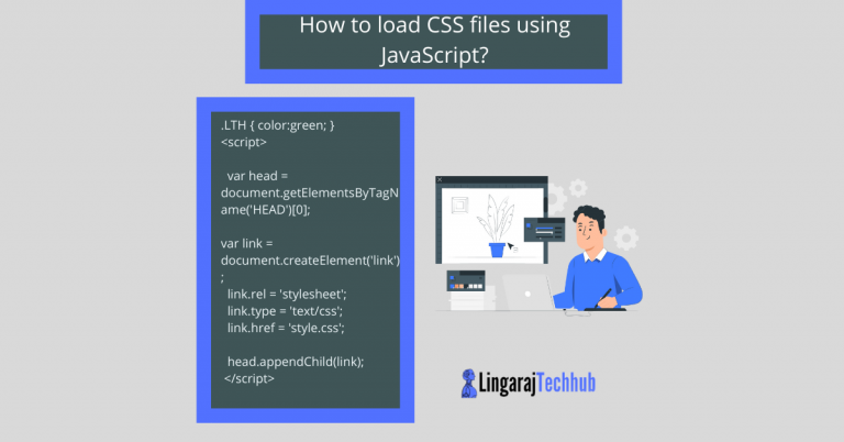 How to load CSS files using JavaScript?