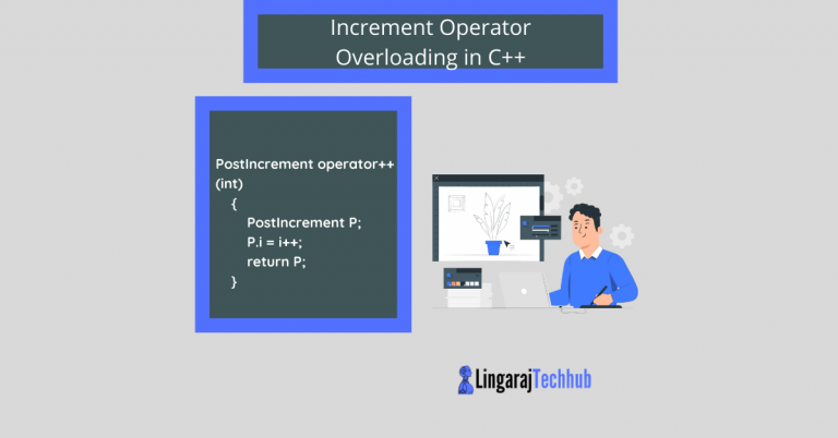 Increment operator overloading in cpp