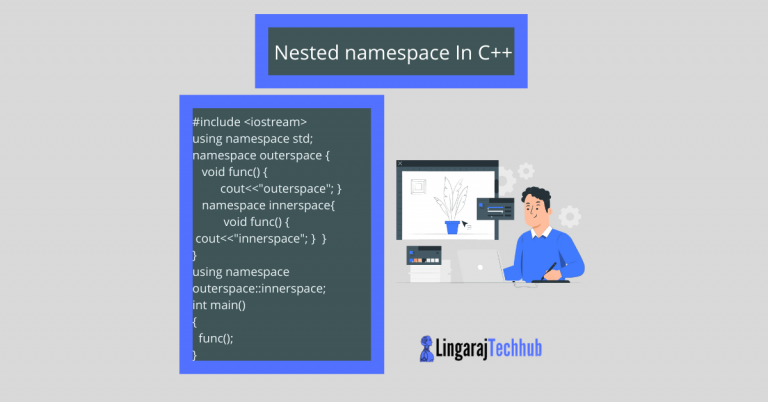 nested namespace in cpp